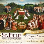 Thumbnail image for Starting the Year, right – Missa Cantata & young adults in Battle Creek