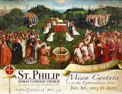 Post image for Starting the Year, right – Missa Cantata & young adults in Battle Creek