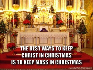Post image for Tridentine Christmas Around the State