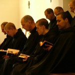 Monks - at prayer