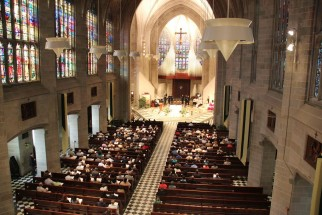 Post image for August 2013 Mass & Dinner: Cathedral of the Most Blessed Sacrament!