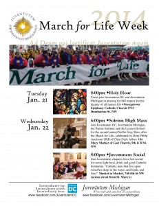 Post image for March for Life 2014 – Traditional Latin Mass