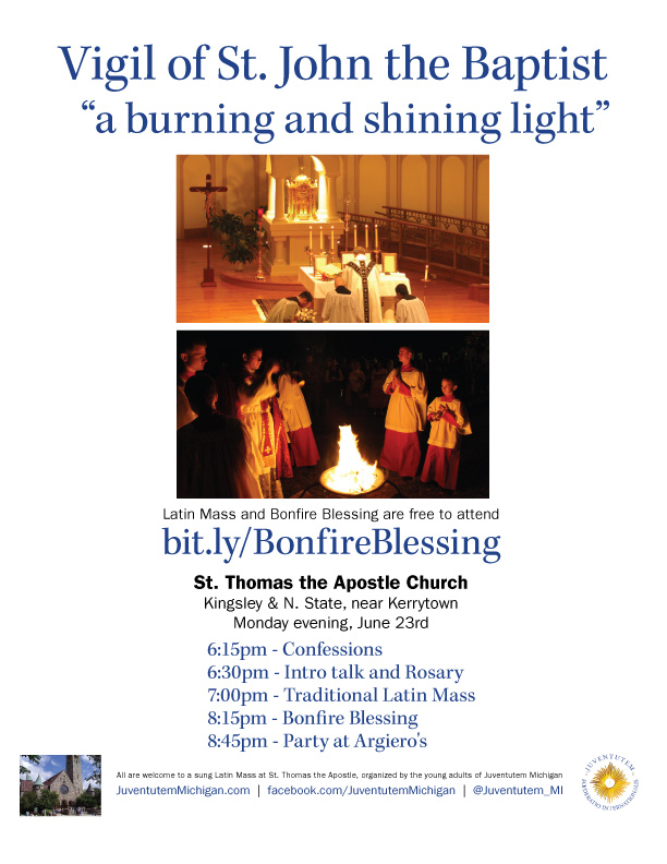 Post image for Johannesfeuer 2014: Latin Mass & Bonfire Blessing